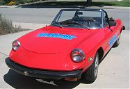 Alfa Romeo 2000 Spider Veloce Electric Conversion; front