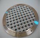 OCO solar diffuser top plate; courtesy Milton Thomas wirecutcompany.com